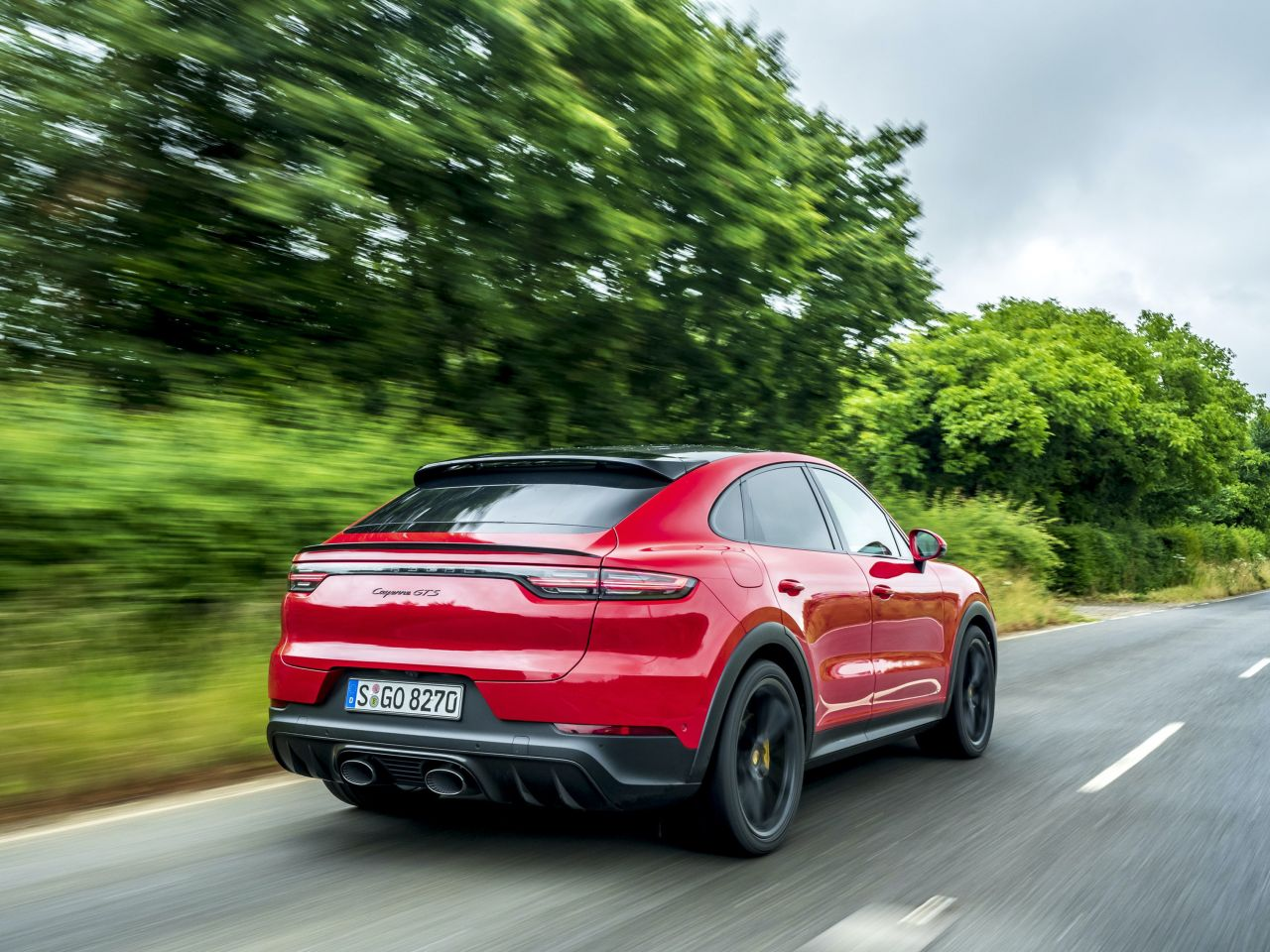 First Drive Porsche Cayenne Gts Coupe The Portugal News